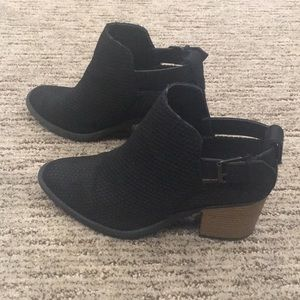 Qupid Shoes - Black ankle booties